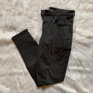 NWOT Destroyed Express Ankle Jeggings